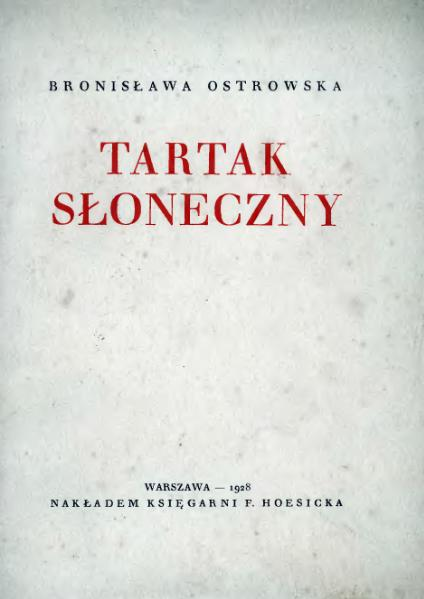 File:PL Bronisława Ostrowska - Tartak słoneczny.djvu