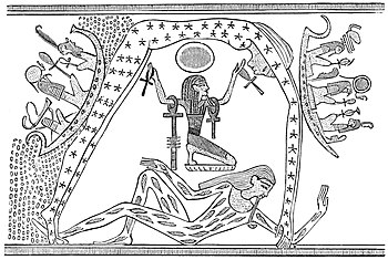 PSM V10 D564 Egyptian representation of heaven and earth.jpg