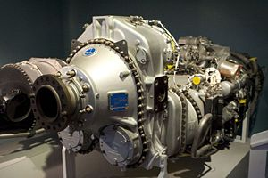 Pratt & Whitney Canada PW100 - PW120 in Canada Aviation Museum