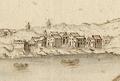 Paço d'Arcos - Vista e perspectiva da Barra, Costa e Cidade de Lisboa (Bernardo de Caula, 1763).png