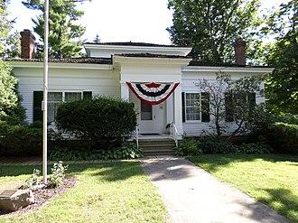 Concord Village Historic District (Concord, Michigan) - Image: Paddock Hubbard House Concord