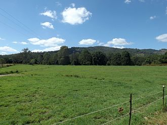 Cedar Creek, Queensland (Logan & Gold Coast) - Paddocks along Chardon Bridge Road, 2016