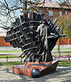 Paderewski monument ,Strzelecki Park,Krakow Poland.jpg