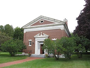 Paine Memorial Library, built in 1930