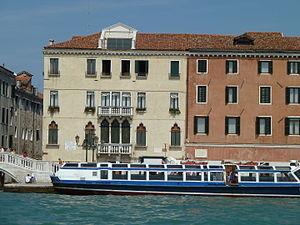 Palazzo Molina, Venice - Palace facade.