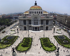 English: The Palacio de Bellas Artes (Fine Art...