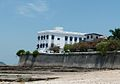 Palacio de Justicia, ahora el Instituto Nacional de Cultura, from the beach.JPG