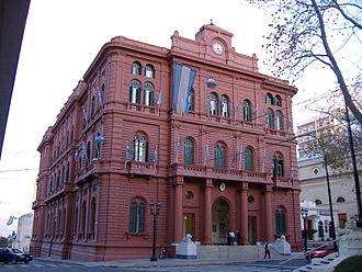 Rosario, Santa Fe - Palacio de los Leones (City Hall).