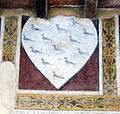 Palazzo vicariale di certaldo, loggia in facciata, stemma rondinelli.jpg