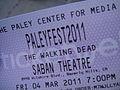 PaleyFest 2011 - ticket (5499987145).jpg