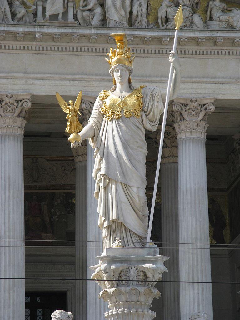 File:Pallas Athena statue, Vienna-4.jpg - Wikimedia Commons
