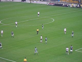 Paulista Derby São Paulo football clubs Corinthians and Palmeiras