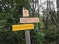 Panneau de sentier à Bellechambre.JPG