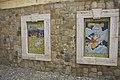 Panneaux de céramique à Cefalù proche de Santo Stefano di Camastra réputé pour ses faïences.jpg