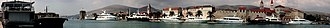Trogir - Image: Panorama de la ville de Trogir