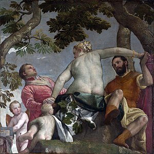 The Allegory of Love (Veronese) - Image: Paolo Veronese 020
