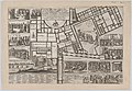 Papal conclave following the death of Pope Alessandro VII, with an iconographic map of Vatican City and scenes of the funeral, procession, and election of the new pope MET DP874844.jpg