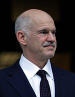 George Papandreou Papandreou handover cropped.jpg