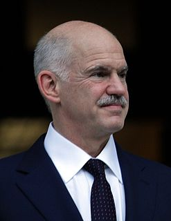 George Papandreou Greek politician, president of the Socialist International