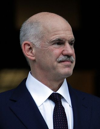 2004 Greek legislative election - Image: Papandreou handover cropped