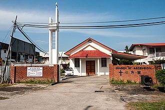 Papar District - Image: Papar Sabah Church Of Ascension 01