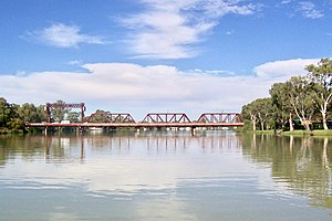 Riverland - Paringa Bridge over the Murray River