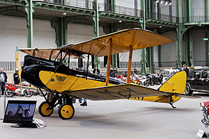 Denys Finch Hatton - The Gipsy Moth used in the film Out of Africa