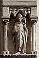Paris - Cathédrale Notre-Dame - Façade ouest - Statue - PA00086250 - 006.jpg