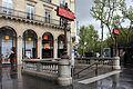 Paris Metro 12 Madeleine Eingang.JPG