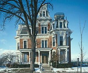 Arthur Davison Ficke - Ficke's boyhood home in Davenport.