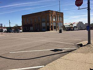 Kingsley, Iowa - Downtown Kingsley
