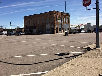 Kingsley, Iowa - Downtown Kingsley