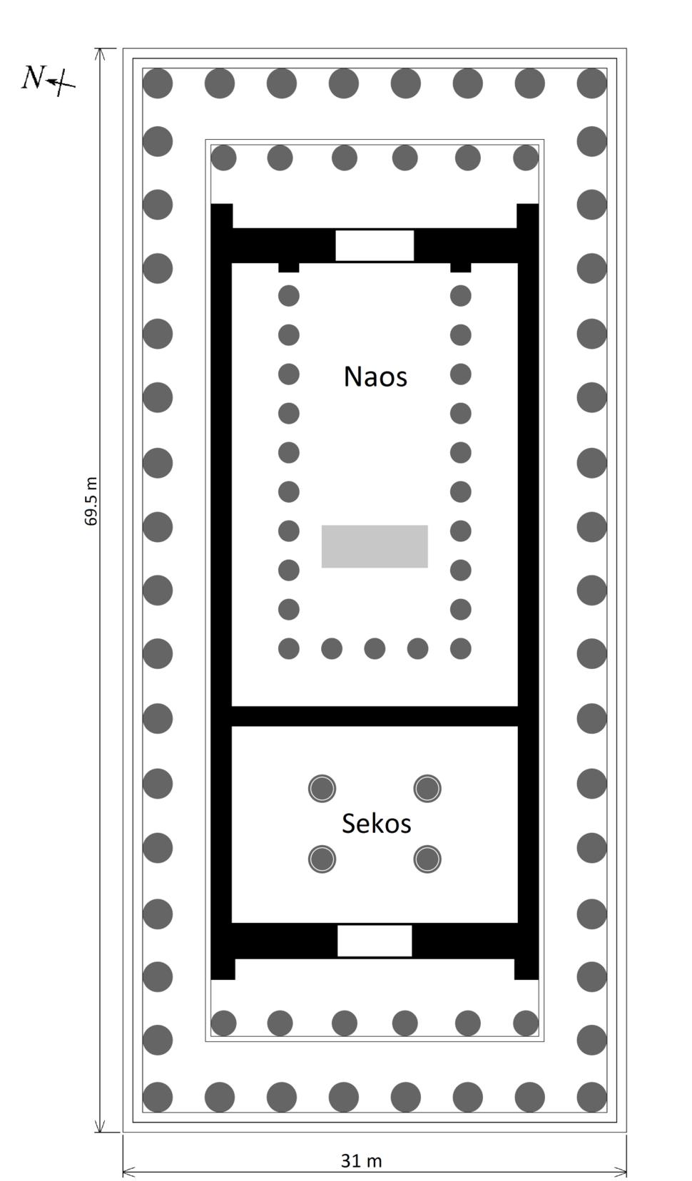 Parthenon plan