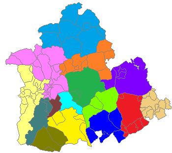 Partidos judiciales de Sevilla