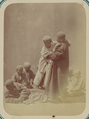 Pastimes of Central Asians. Young Boys during a Wrestling Match WDL10815.png