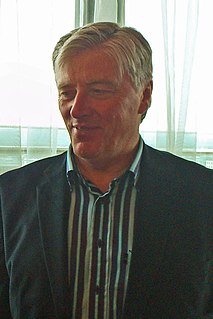 Pat Kenny Irish television and radio presenter
