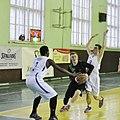 Patrick Yosia plays defence (Poltava B.C vs Hurricane B.C).jpg