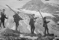 Patrouille auf Skiern - CH-BAR - 3237145.tif