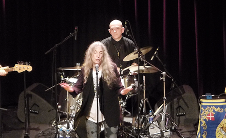 Patti Smith on the Defence of the Earth - Paradiso, 2018)