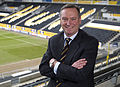 Paul Duffen at KC Stadium as Chairmain of HFAFC, 2008.jpg
