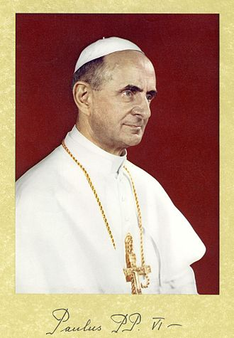 Mother of the Church - Pope Paul VI