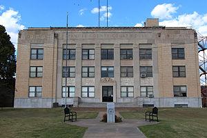 Pawnee County, Oklahoma - Image: Pawnee Courthouse