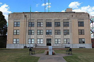 Pawnee County, Oklahoma - Image: Pawnee Courthouse