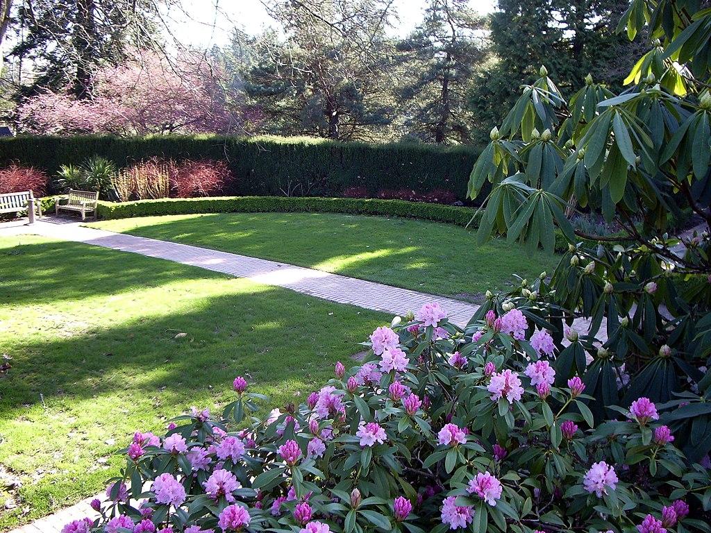 Washington Park Shakespeare Garden Portland Oregon
