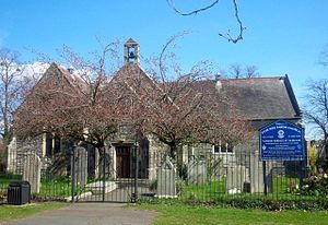 Peartree Green - The parish church on Peartree Green