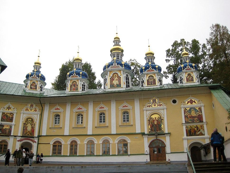Pechory. Pskovo-Pechersky Monastery. Church of the Protection of the Theotokos