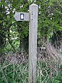 Peddars Way symbol - geograph.org.uk - 764544.jpg