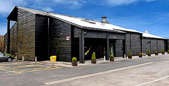 Penderyn (whisky) - Exterior of the distillery, 2014
