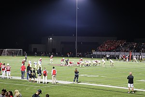 Penfield High School - Image: Penfield Patriots Face Off