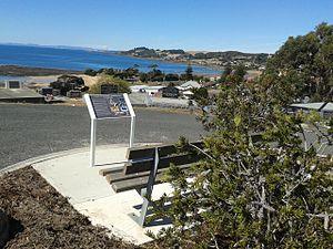 Penguin, Tasmania - Penguin General Cemetery's interpretive signage